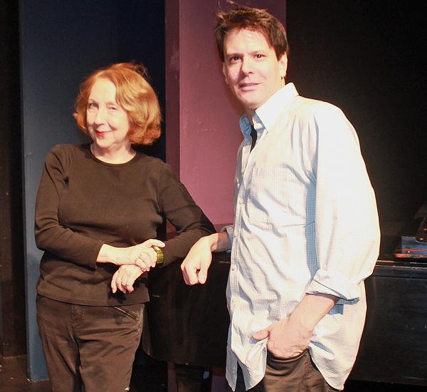 Pamela Hunt (director), and Eric Svejcar (music director) Photo