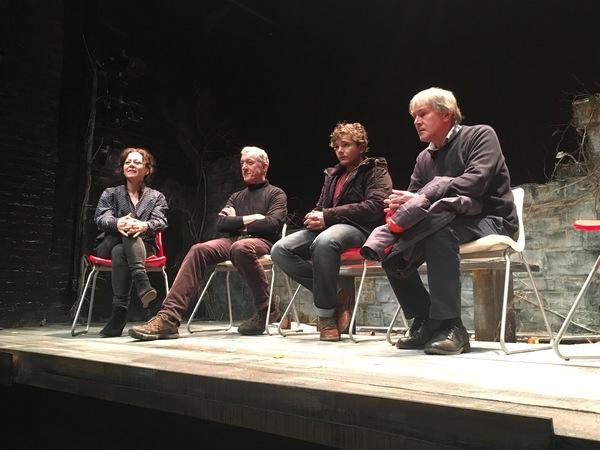 GERALDINE HUGHES, SEAN GORMLEY, RUPERT SIMONIAN, ROBERT HOLMAN Photo