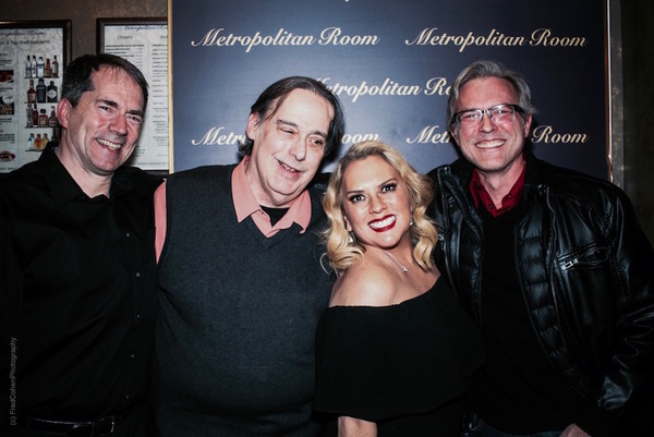 Musical Director Doug Martin, Creative Consultant Michael Feingold, Aimée, William Photo