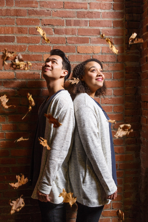 Photo Flash: Sneak Peek at Brian Vu and Taylor Raven in Pittsburgh Opera's AS ONE