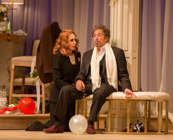 Photo Flash: First Look at Al Pacino and Judith Light in GOD LOOKED AWAY at Pasadena Playhouse