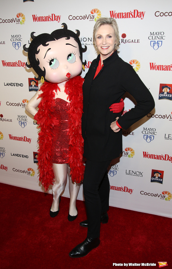 Betty Boop and Jane Lynch