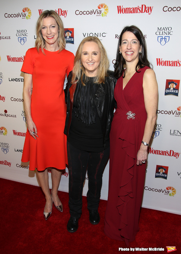 Susan Spencer, Melissa Etheridge and Kassie Means