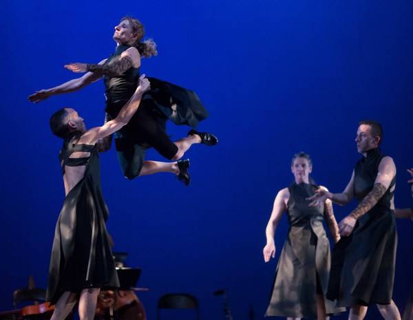 Photo Flash: Sneak Peek at Chicago Tap Theatre's LIASION