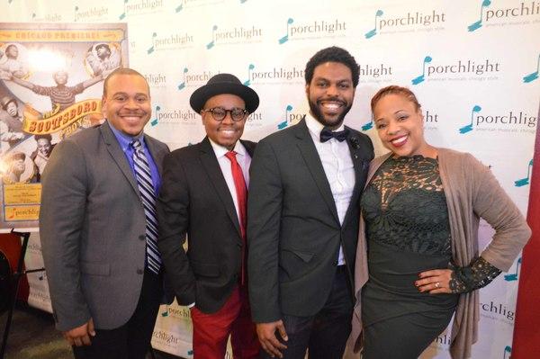 Wardell Julius Clark,  Samuel Roberson, Jr., Breon Arzell and Florence Walker-Harris  Photo