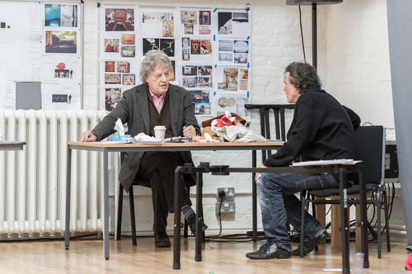 Tom Stoppard and David Leveaux Photo