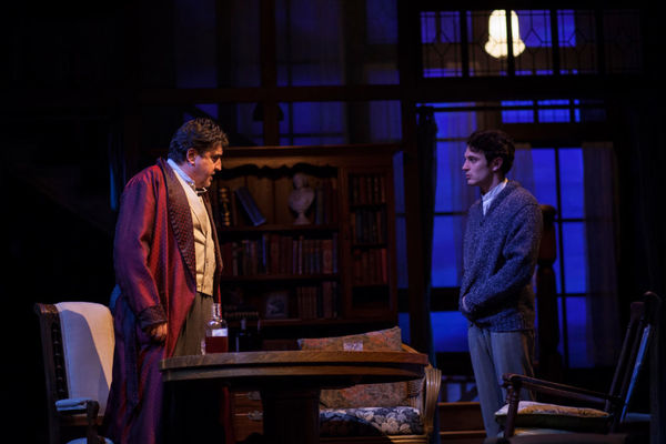 Alfred Molina and Colin Woodell