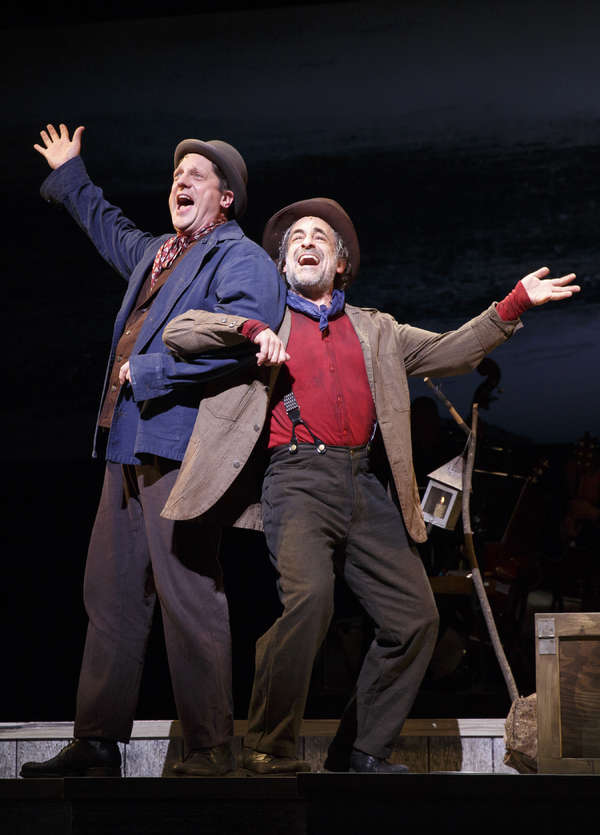 Photo Flash: Travel Down Muddy Water with a First Look at Encores! BIG RIVER