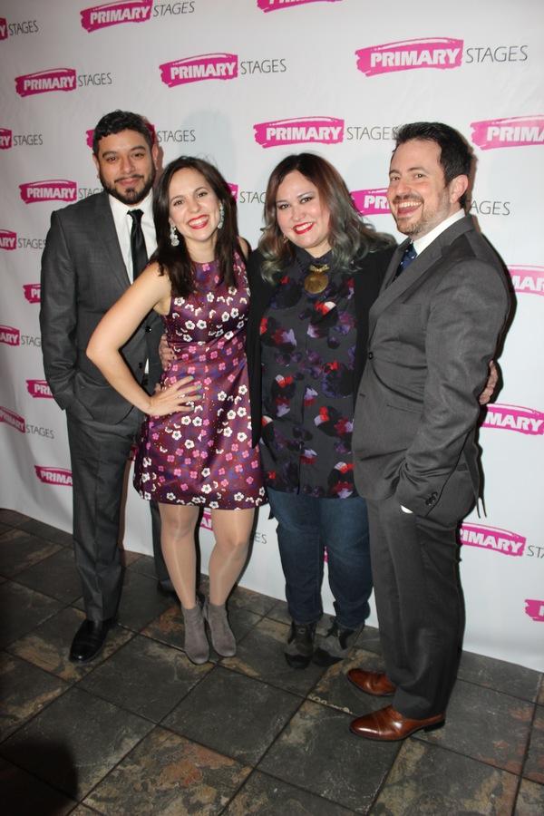 Eddie Martinez, Annie Dow, Tanya Saracho and Jerry Ruiz Photo