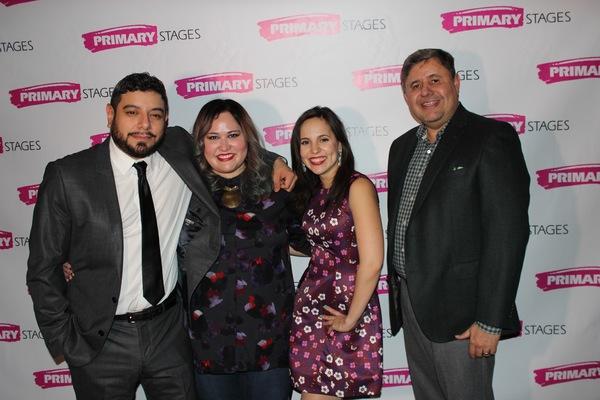 Eddie Martinez, Tanya Saracho, Annie Dow and Jose Mendes Photo