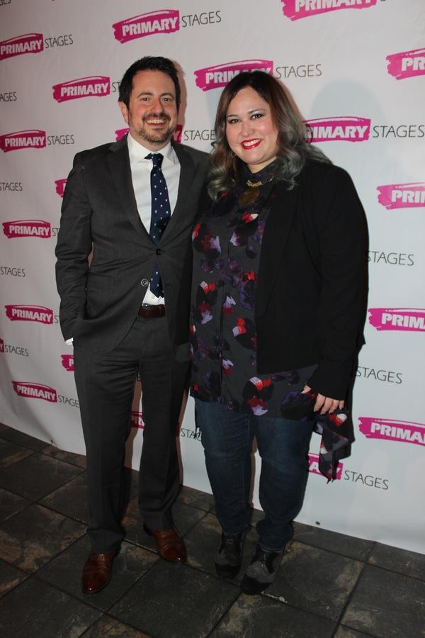 Jerry Ruiz and Tanya Saracho