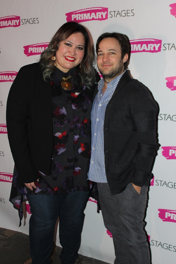 Tanya Saracho and Danny Strong Photo