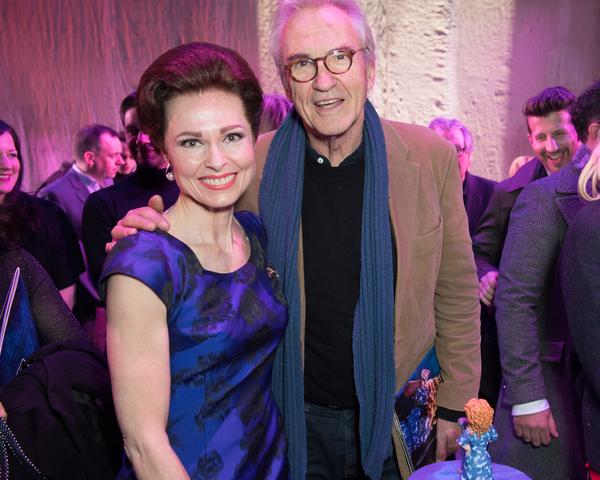 Barbara Drennan and Larry Lamb