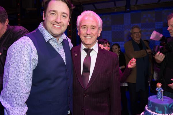 Jason Manford and Tony Christie Photo