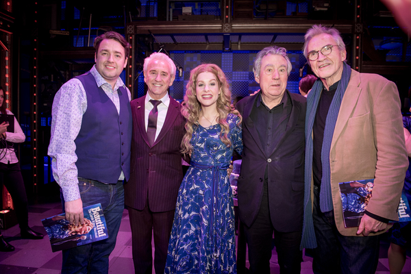 Jason Manford, Tony Christie, Cassidy Janson, Terry Jones, and Larry Lamb