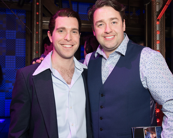 Joseph Prouse and Jason Manford Photo
