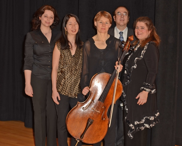Dina Pruzhansky, Reiko Uchida, Kajsa William-Olsson, Moshe Knoll and Allison Charney