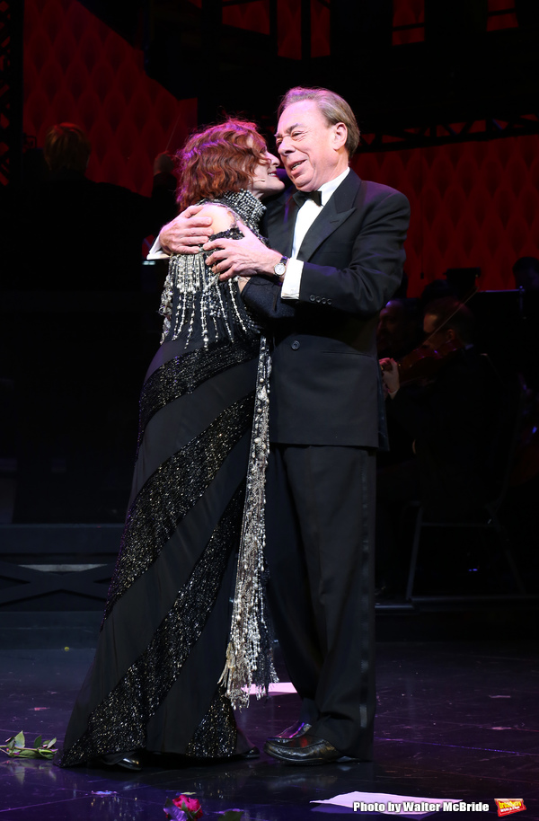 Glenn Close and Andrew Lloyd Webber