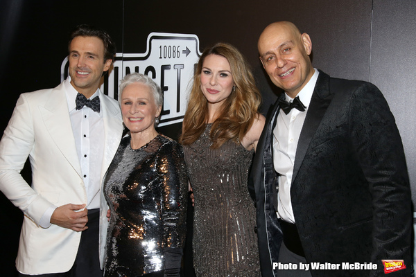 Michael Xavier, Glenn Close, Siobhan Dillon and Fred Johnson