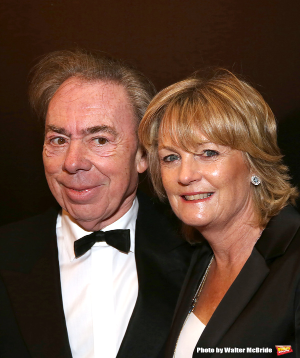 Andrew Lloyd Webber and wife Madeleine Gurdon