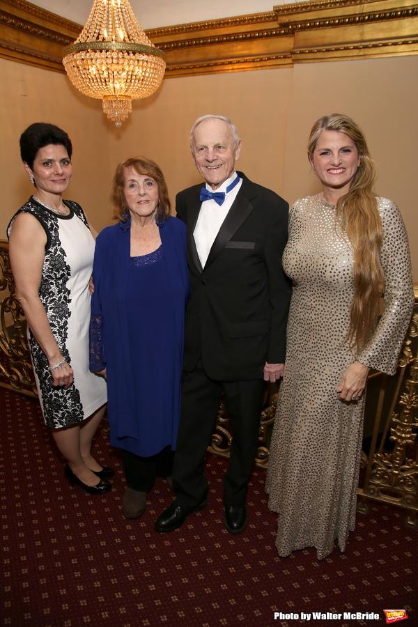 Carol Washer, Virginia Comley, James F. Comley and Bonnie Comley