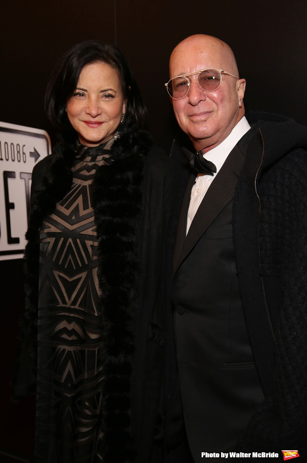 Paul Shaffer avec engageante, femme Cathy Vasapoli