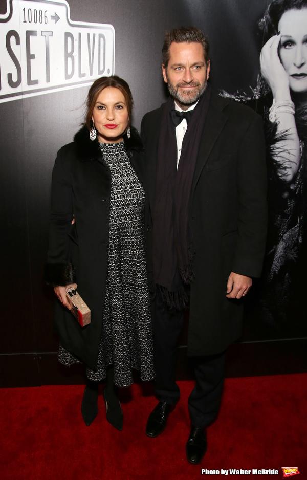 Mariska Hargitay and Peter Hermann
