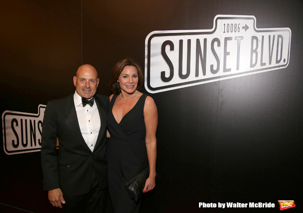 Tom D'Agostino Jr. and Luann de Lesseps