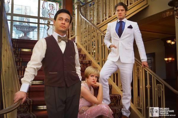 Buddy Haardt, Kathryn Miller, and Matthew Goodrich