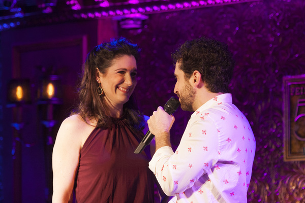Photo Flash: Stephanie J. Block and More Join Brandon Uranowitz in Concert at Feinstein's/54 Below
