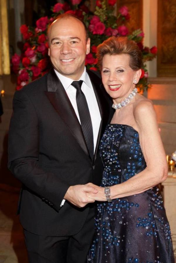 Danny Burstein and Adrienne Arsht Photo