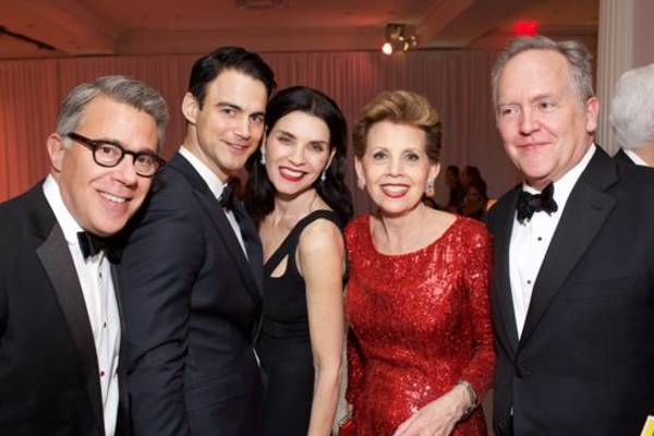 Russell Granet, Keith Lieberthal, Julianna Marguilies, Adrienne Arsht and David Beach
