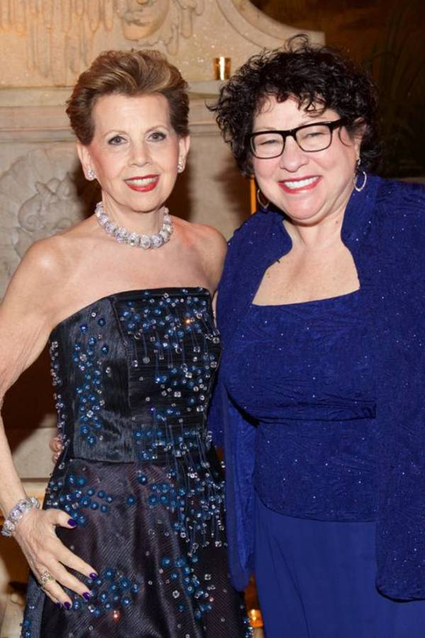 Adrienne Arsht and Justice Sonia Sotomayor