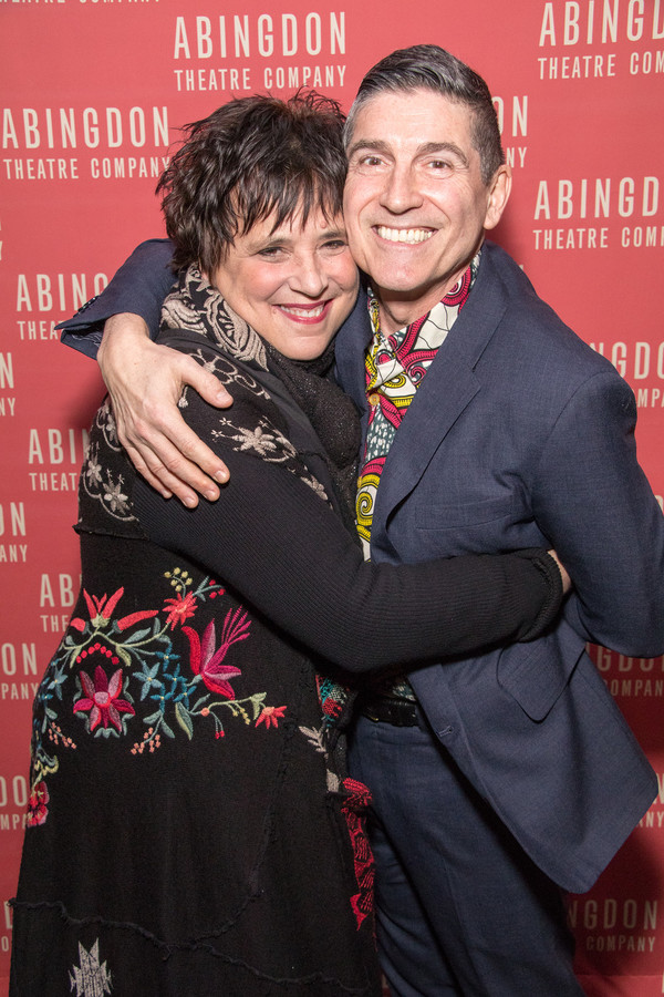 Eve Ensler and James Lecesne