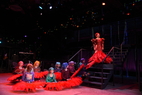 Photo Flash: Trinity Rep's A MIDSUMMER NIGHT'S DREAM Takes the Stage in 80's Fasion