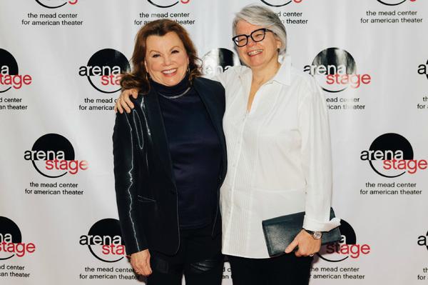 Marsha Mason (Fanny Farrelly) and director Jackie Maxwell