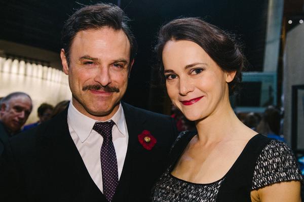 Anthony Crane (Teck De Brancovis) and Natalia Payne (Marthe De Brancovis)