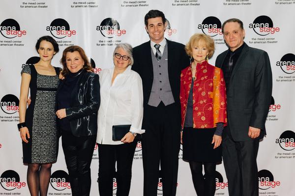 Natalia Payne (Marthe De Brancovis), Marsha Mason (Fanny Farrelly), director Jackie Maxwell, Thomas Keegan (David Farrelly), Helen Hedman (Anise) and Andrew Long (Kurt Müller)