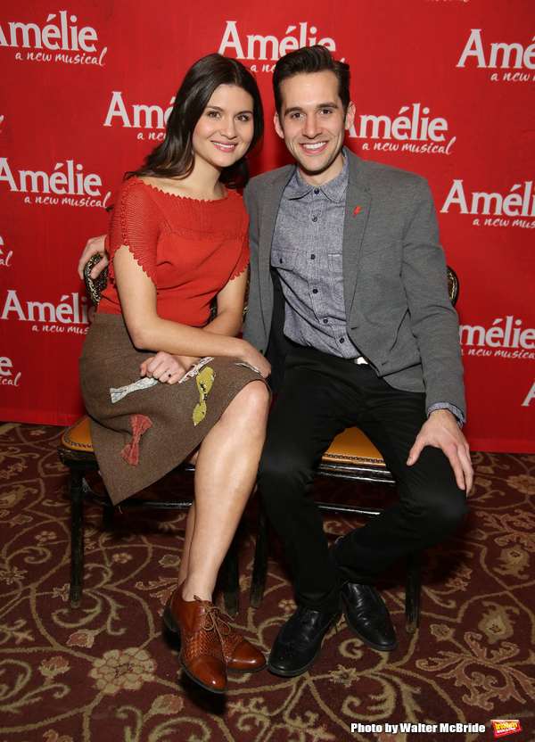 Phillipa Soo and Adam Chandler-Beret
