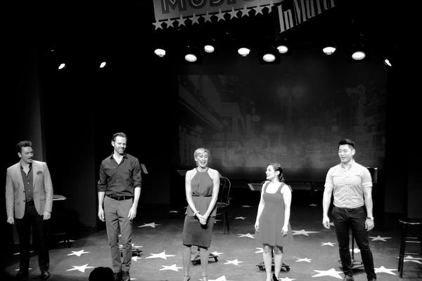 Brian Charles Rooney, Michael Halling, Rachel de Benedet, Meghan Picerno and Karl Jos Photo