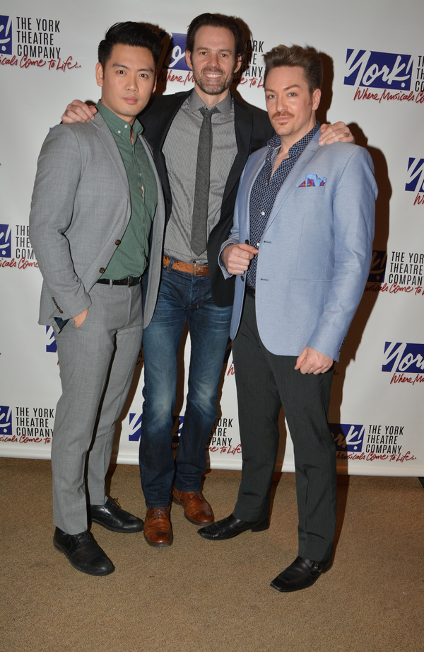 Karl Josef Co, Michael Halling and Brian Charles Rooney Photo