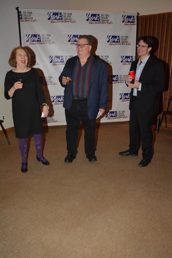 Pamela Hunt, James Morgan and Eric Svejcar Photo