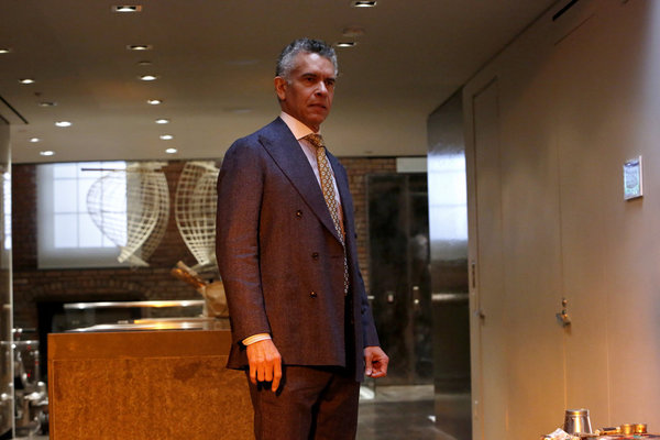 "THE BLACKLIST -- ""The Architect (#107)"" Episode 414 -- Pictured: Brian Stokes Mitchell as David Levine -- (Photo by: Will Hart/NBC)"