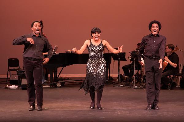 Anthony Manough, Sharon Catherine Brown and Eric B. Anthony Photo