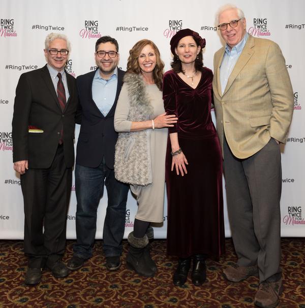 Director Rick Lombardo, Jason Grossman (Executive producer), Petina Cole (producer), M. Kilburg Reedy (Executive Producer), playwright Alan Hruska