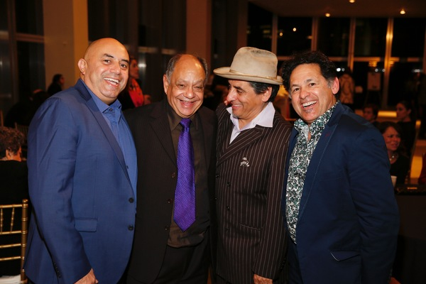 Actors Herbert Siguenza, Cheech Marin, Richard Montoya and Ric Salinas