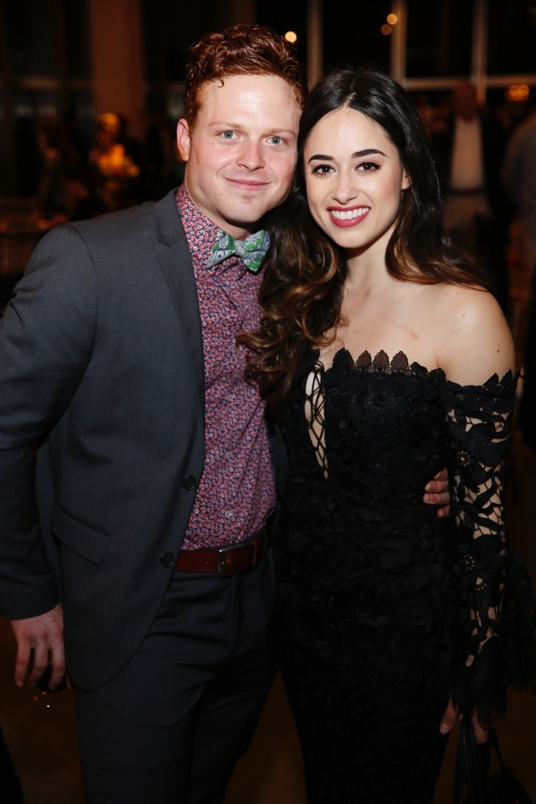 Cast members Caleb Foote and Jeanine Mason Photo