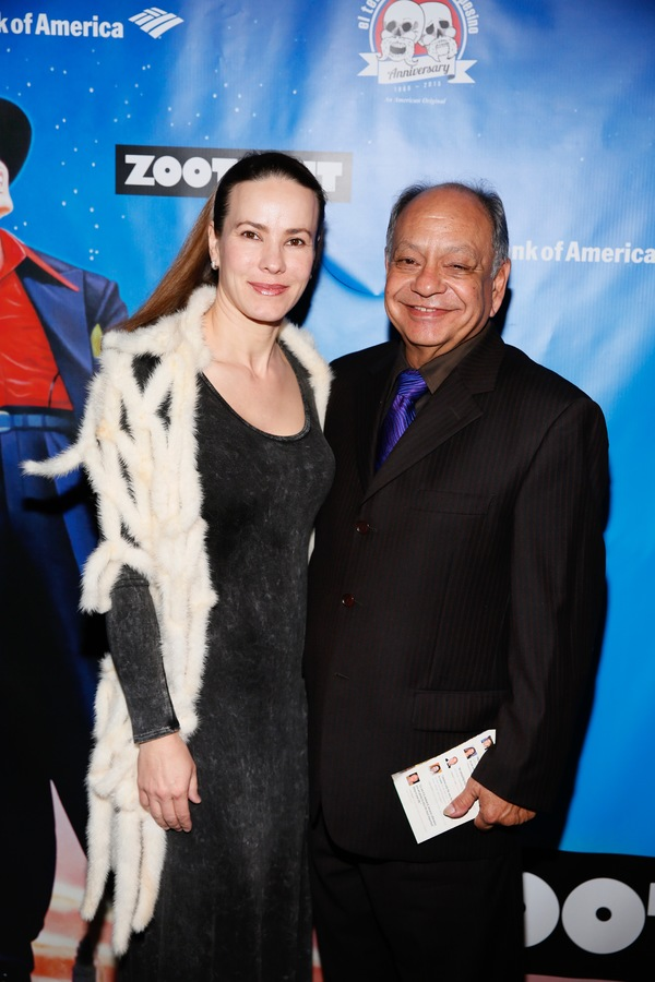 Concert pianist Natasha Rubin and actor Cheech Marin
