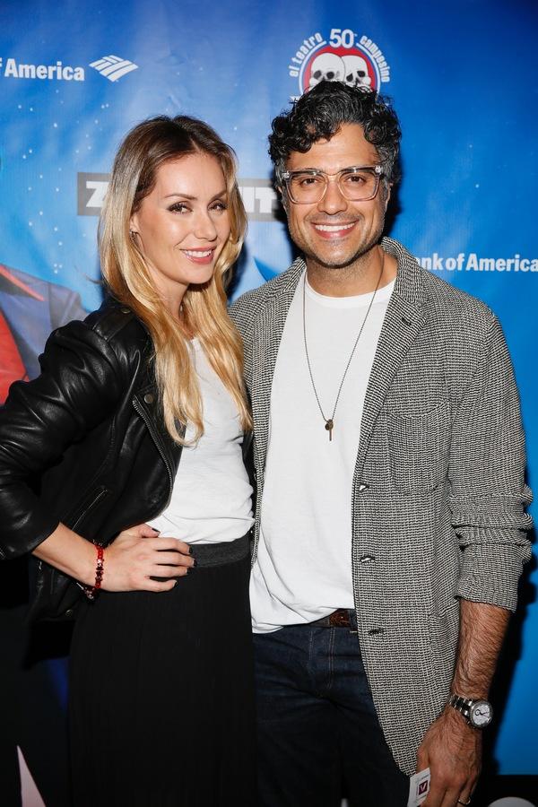 Actors Heidi Balvanera and Jaime Camil  Photo