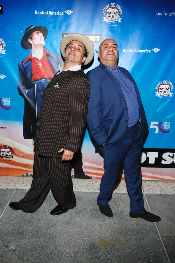 Actors Richard Montoya and Herbert Siguenza